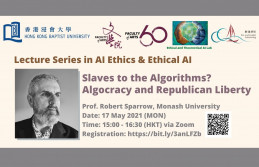 [Register now] 3rd lecture in Lecture Series in AI Ethics and Ethical AI